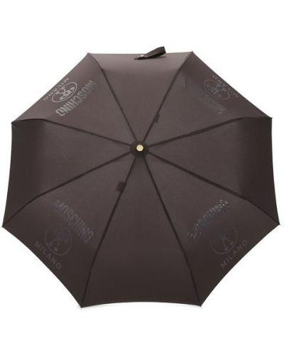 Автоматический зонт в полоску из полиэстера Moschino