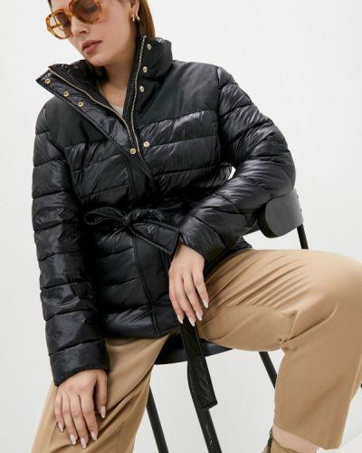 Утепленная куртка - черная Trussardi