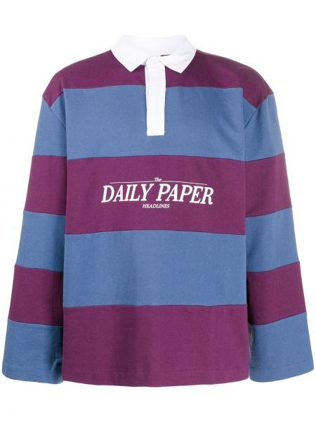 Koszula z długim rękawem klasyczna karmazynowy Daily Paper