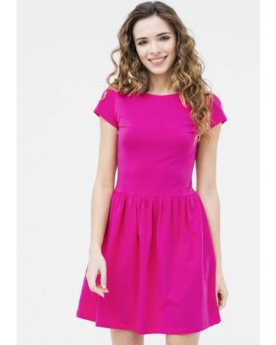 Розовое платье мини Mascot