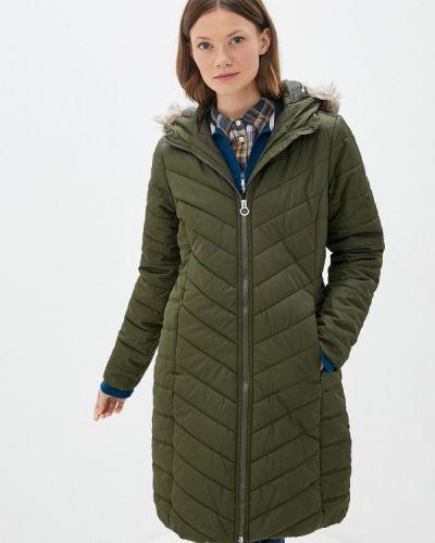 Зеленая теплая куртка Regatta