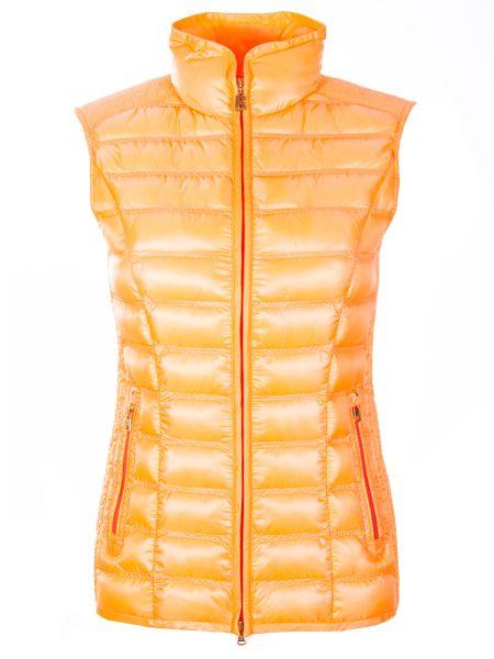 Оранжевый нейлоновый спортивный костюм с карманами на молнии Bogner