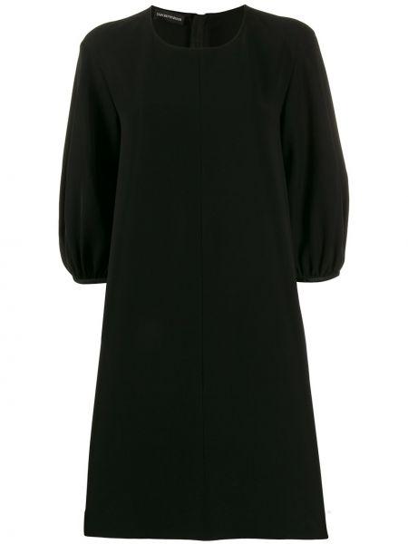 Платье миди - черное Ea7 Emporio Armani