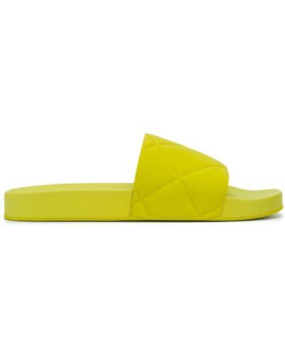 Zielony otwarty sandały otwarty palec u nogi Bottega Veneta