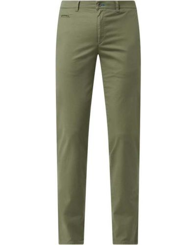 Zielone сhinosy bawełniane Brax