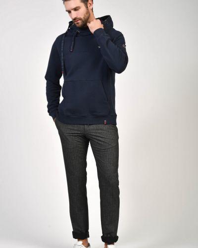 Серые брюки из вискозы Daniel Hechter