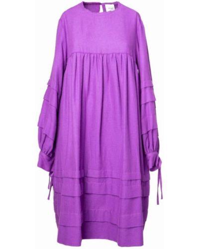 Fioletowa sukienka Alysi