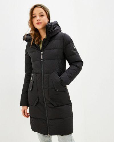 Черная утепленная куртка Froggi