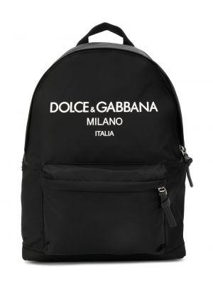 Черный рюкзак Dolce & Gabbana Kids