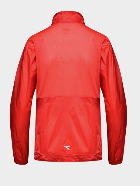 Куртка на молнии - красная Diadora