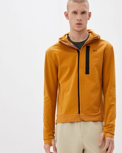 Желтая спортивная куртка Reebok