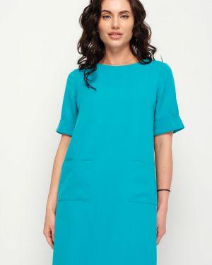 Летнее платье коралловый платье-сарафан Taiga