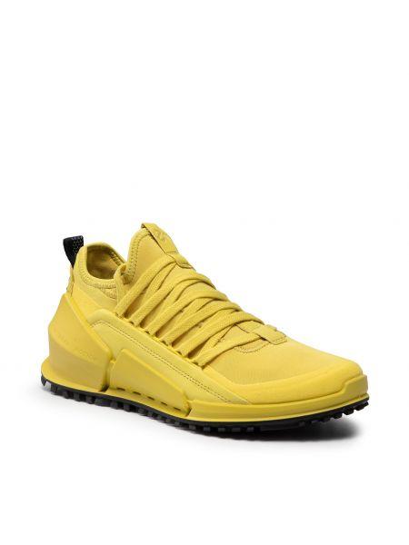 Półbuty casual - żółte Ecco