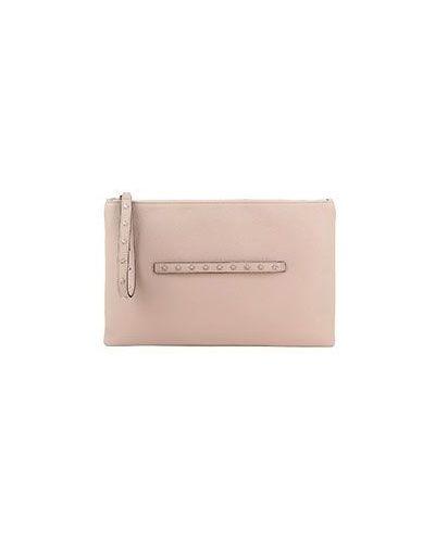 Клатч розовый Valentino Red