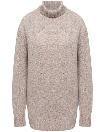 Бежевый шерстяной свитер Joseph