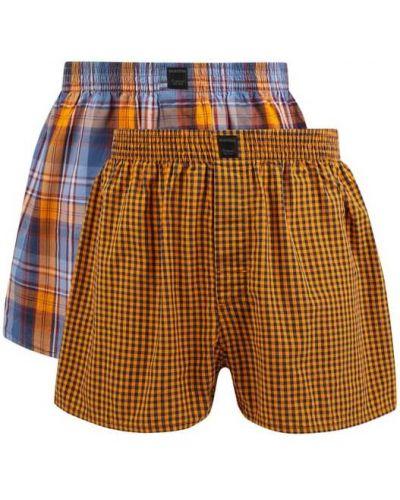 Pomarańczowe majtki bawełniane Montego