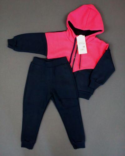 Костюмные трикотажные спортивные брюки с начесом габби