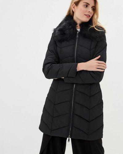 Утепленная куртка демисезонная черная Gaudi