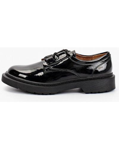 Черные туфли осенние Betsy