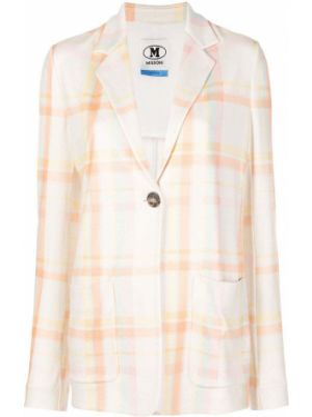 Бежевый пиджак оверсайз на пуговицах M Missoni