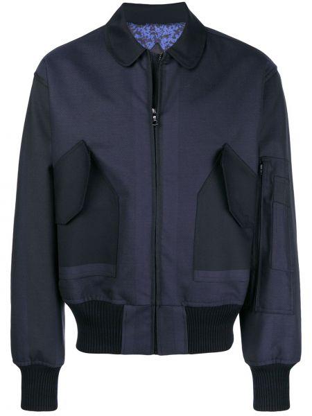 Синяя куртка Poan