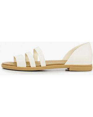 Спортивные сандалии белый Crocs