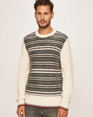 Sweter z wzorem z dzianiny Tommy Hilfiger