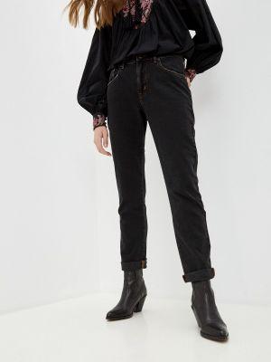 Прямые джинсы - черные One Teaspoon