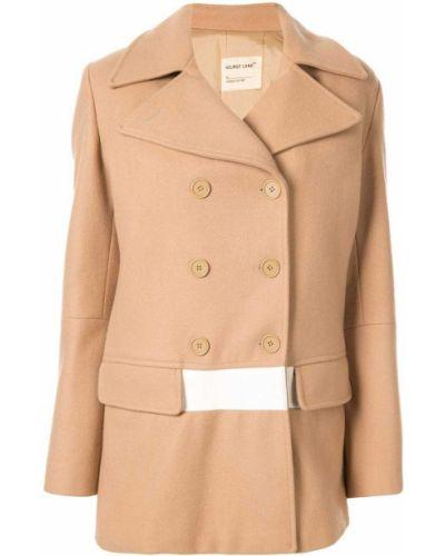 Длинное пальто с капюшоном на пуговицах Helmut Lang Pre-owned