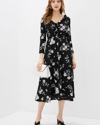 Платье - черное Springfield