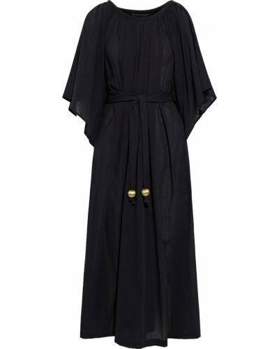 Czarny kaftan bawełniany Lisa Marie Fernandez
