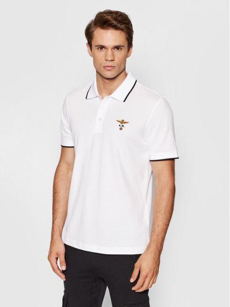 Biała koszulka Aeronautica Militare