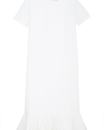 Повседневное прямое белое платье Edit