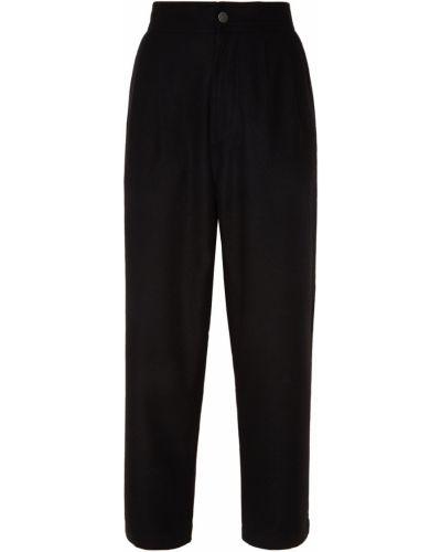 Укороченные брюки с карманами с завышенной талией Calvin Klein