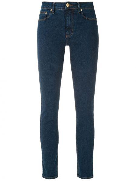 Хлопковые синие джинсы на молнии Amapô