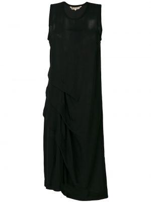 Платье миди винтажная с драпировкой Comme Des Garçons Pre-owned