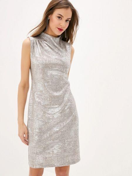 Серебряное вечернее платье Mankato