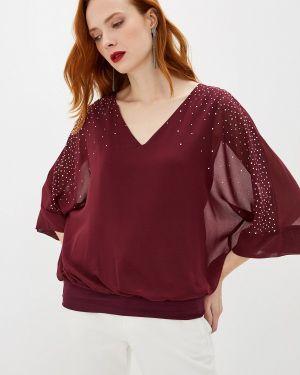 Блузка бордовый красная Wallis