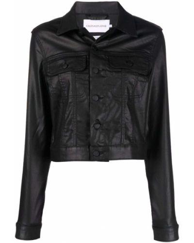 Koszula jeansowa - czarna Calvin Klein Jeans
