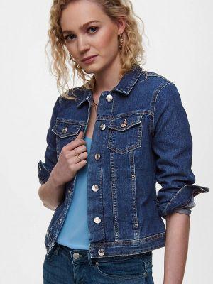 Синяя джинсовая куртка Only