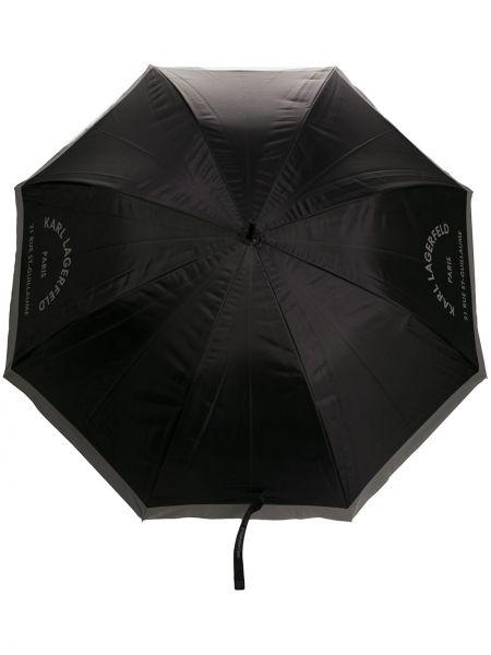 Черный зонт Karl Lagerfeld