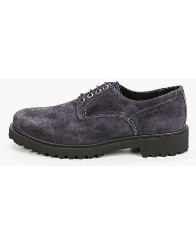 Велюровые серые ботинки Hcs