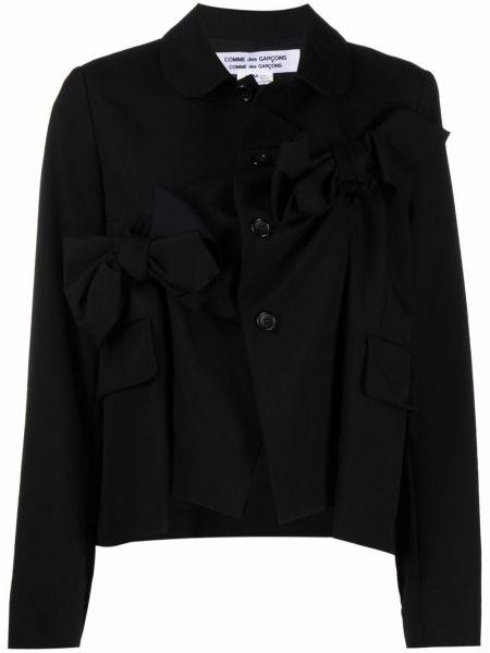 Черная длинная куртка Comme Des Garçons Comme Des Garçons