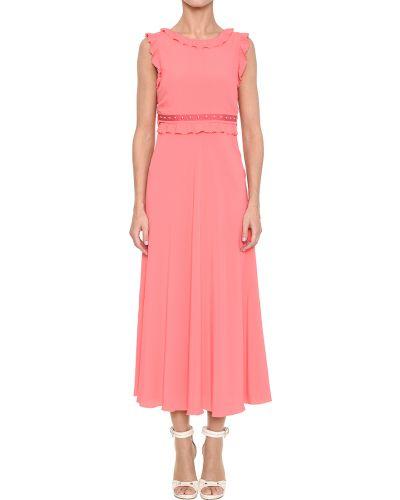 Розовое платье Red Valentino