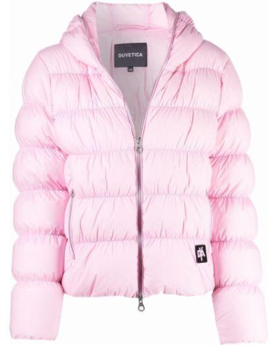 Розовая куртка с карманами Duvetica