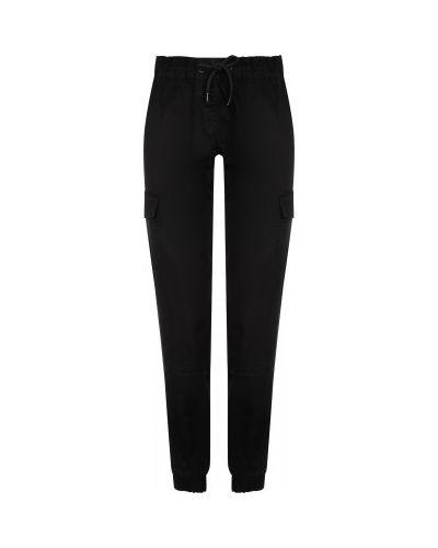 Свободные хлопковые черные брюки карго свободного кроя Termit