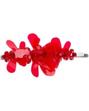 Spinka do włosów z kwiatowym nadrukiem Simone Rocha