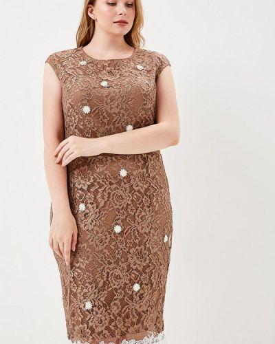 Коричневое платье Kitana By Rinascimento