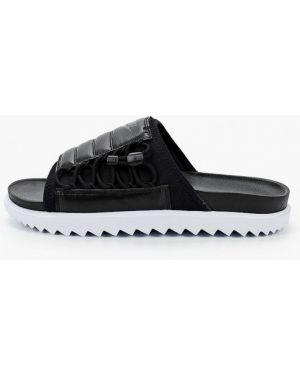 Сланцы черные текстильный Nike