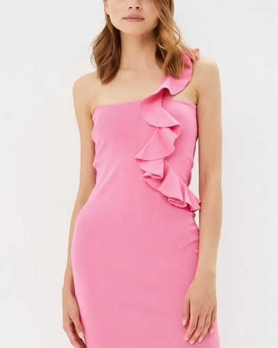 Платье розовое с открытыми плечами You&you